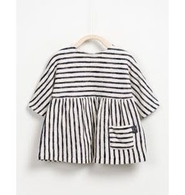 Play Up Play Up: Baby Striped French Terry Dress
