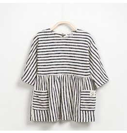 Play Up Play Up: Striped French Terry Dress