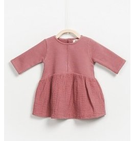 Play Up Play Up: Combi Dress in Mauve
