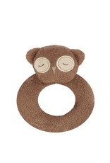 Angel Dear Angel Dear Ring Rattle: Brown Owl