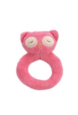 Angel Dear Angel Dear Ring Rattle: Pink Owl