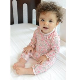 Feather Baby Melody Ruched Romper by Feather Baby