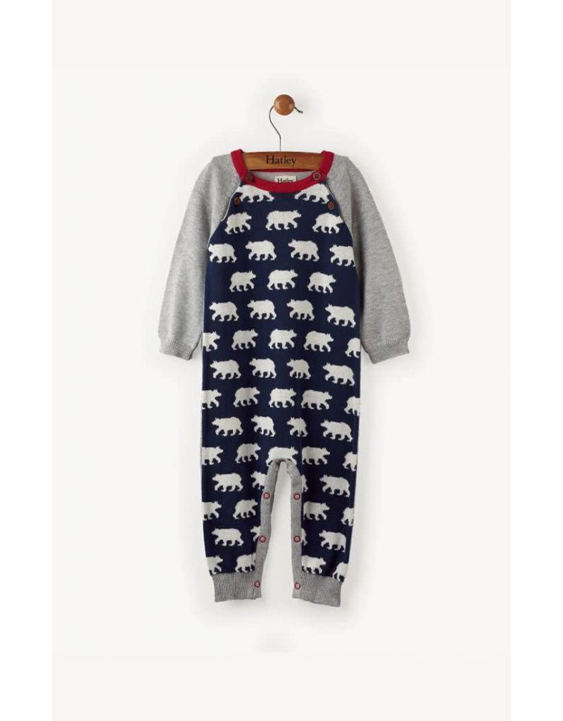 Hatley Polar Bear Herd Sweater Romper