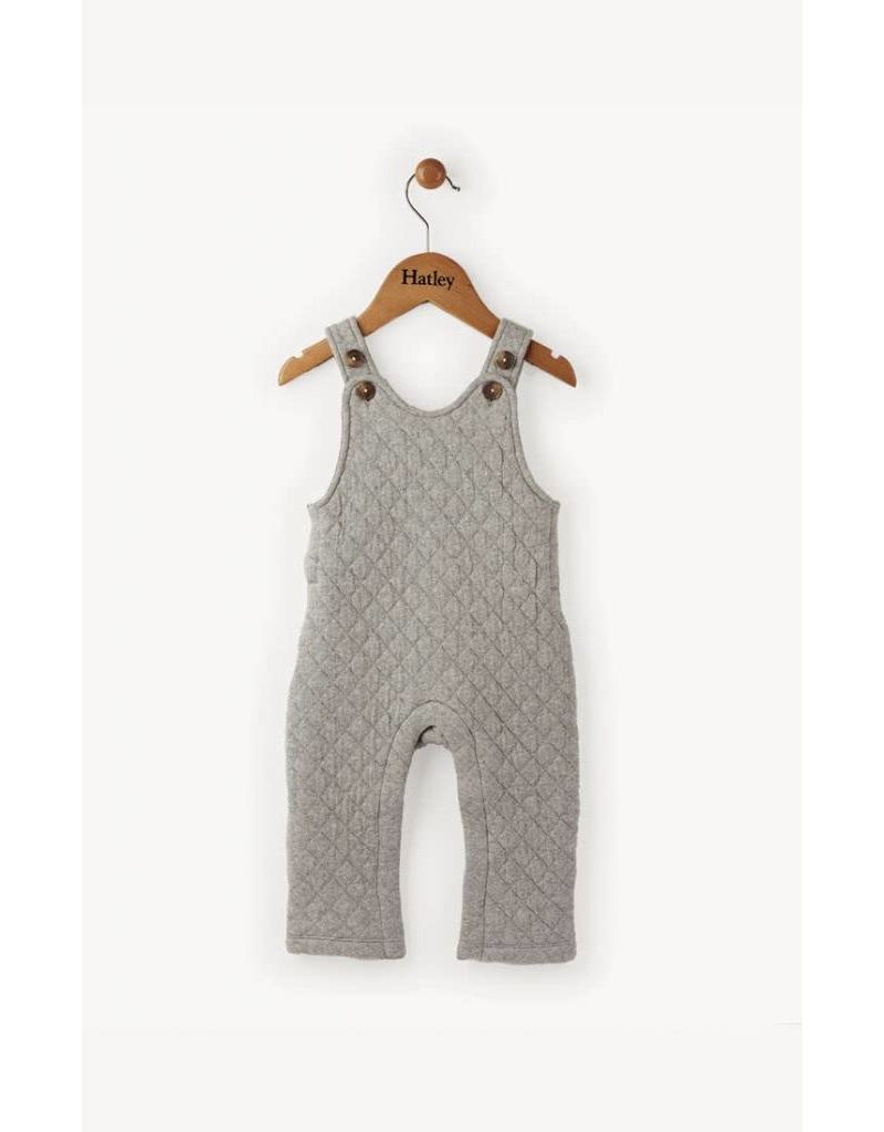 Hatley Quilted Mini Overalls