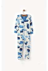 Hatley Wooly Mammoth Mini Footed Coverall