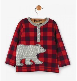 Hatley Beary Bush Long Sleeve Baby Henley