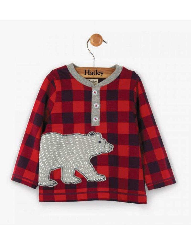 Hatley Beary Bush Long Sleeve Baby Henley