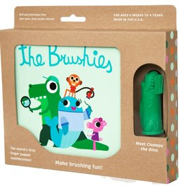 Chomps the Dino & The Brushies Book