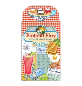 eeBoo Best Pals' Diner Pretend Play Set