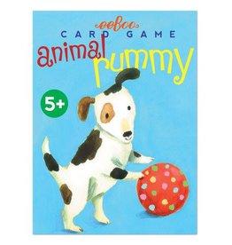 eeBoo Playing Card Set: Animal Rummy