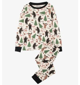 Hatley Lumberjack Animals PJ Set