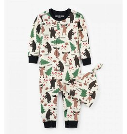Hatley Lumberjack Animals Coverall & Cap Set