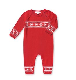 Angel Dear Holiday Intarsia Coverall by Angel Dear