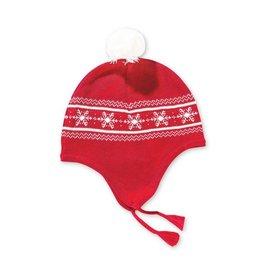 Angel Dear Holiday Intarsia Pilot Hat by Angel Dear