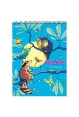 eeBoo Raccoon & Owl Sketchbook