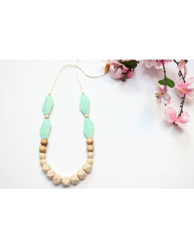 Elora Wood & Silicone Combo Teething Necklace