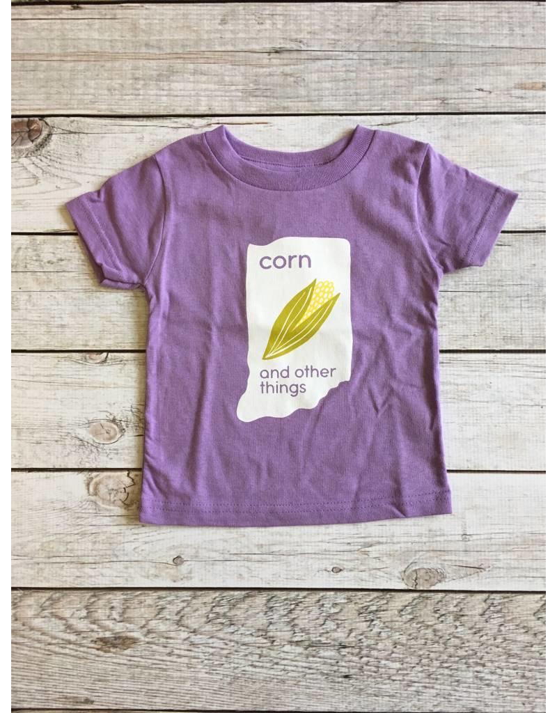 Kitten & Acorn:  Corn & Other Things Tee