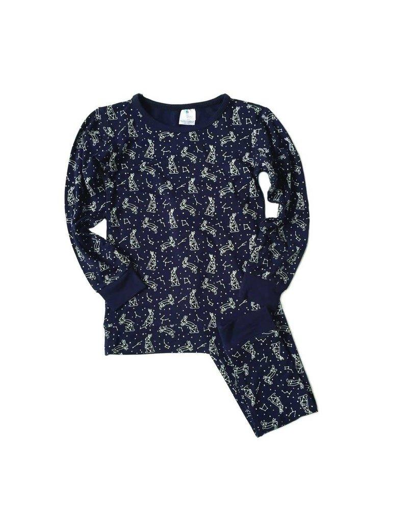 Midnight Constellation Pajama Set by Nohi Kids