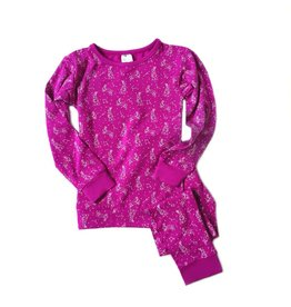 Pink Constellation Pajama Set by Nohi Kids