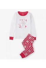 Hatley Candy Cane Applique Pajama Set