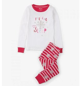 Hatley Candy Cane Applique Pajama Set