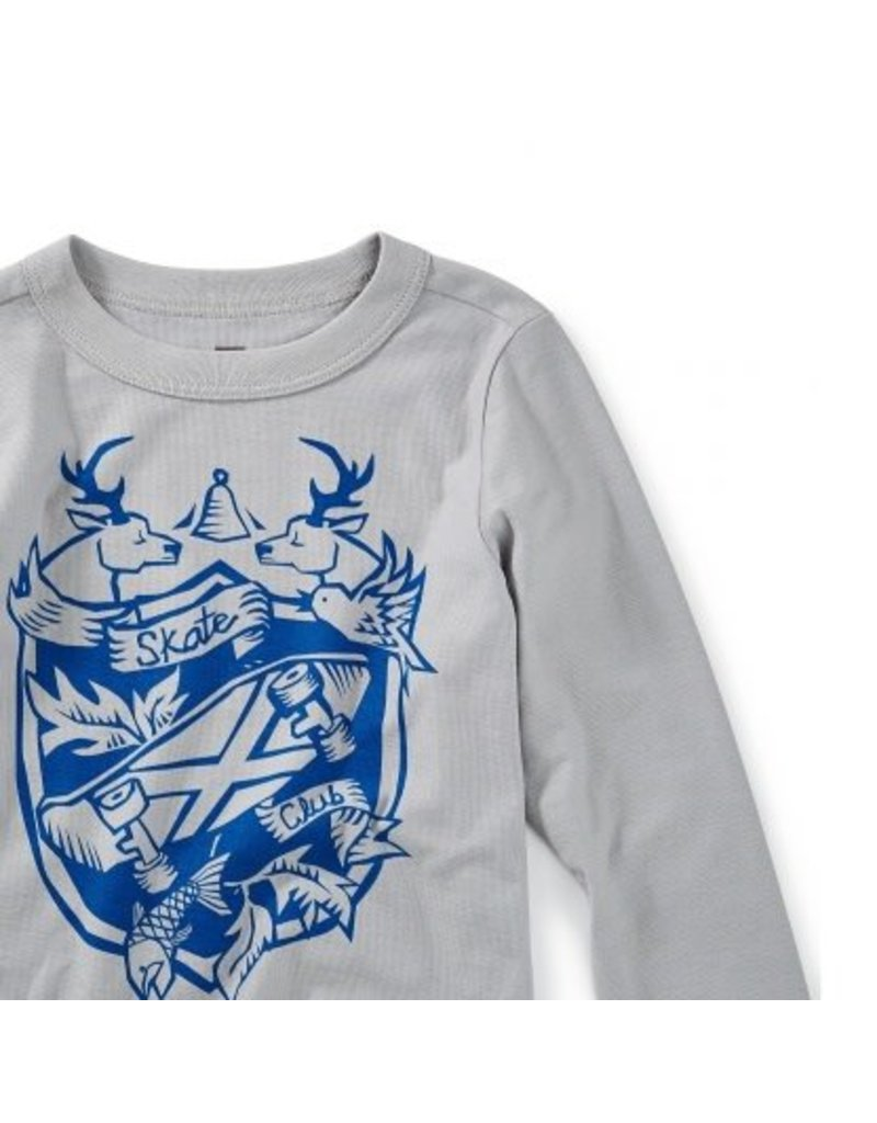 Tea Collection Skate Crest Graphic Tee by Tea Collection
