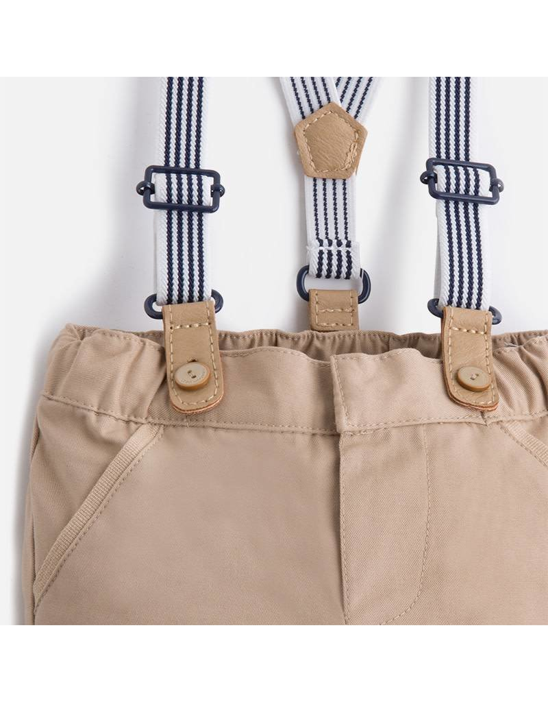 Mayoral Mayoral: Long Trousers w/ Suspenders