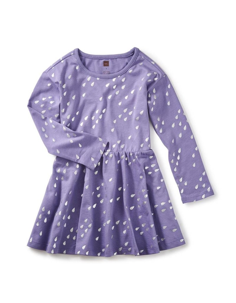 Tea Collection Raindrops Skater Dress by Tea Collection