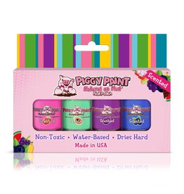 Piggy Paint Fruity Scented Nail Polish Set by Piggy Paint