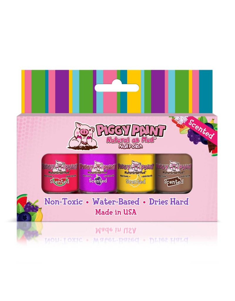 Piggy Paint Scented Nail Polish Set by Piggy Paint
