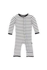 Kickee Pants Parisian Stripe Coverall by Kickee Pants