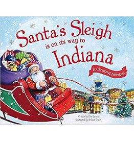 Santa's Sleigh is on its Way to Indiana Book