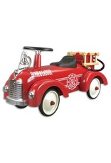 Vintage Style Ride On Fire Truck