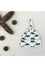 Kate Quinn Organics Reindeers Organic Knot Hat