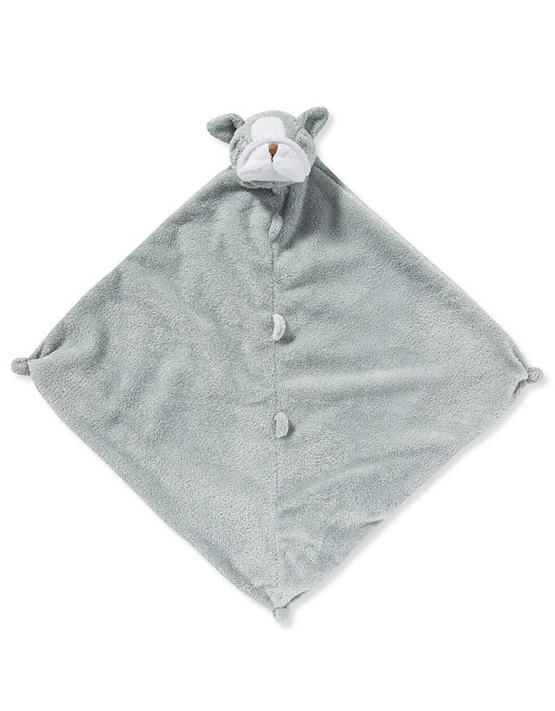 Angel Dear Angel Dear: Grey Bulldog Blankie