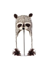 KnitWits Robbie the Raccoon Pilot Hat