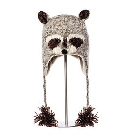 KnitWits KnitWits Robbie the Raccoon Pilot Hat
