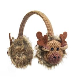 KnitWits KnitWits Animal Earmuffs, Manny Moose, 6yrs+