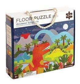 Petit Collage Petit Collage Floor Puzzle:  Dinosaur Kingdom