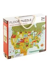Petit Collage Petit Collage United States Floor Puzzle