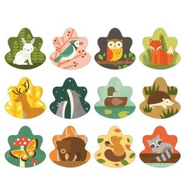 Petit Collage Memory Game: Forest Friends