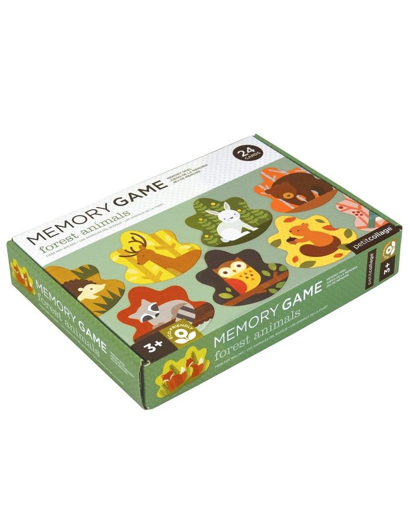 Petit Collage Forest Friends Memory Game