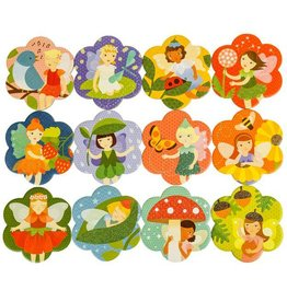 Petit Collage Memory Game: Fairy Friends