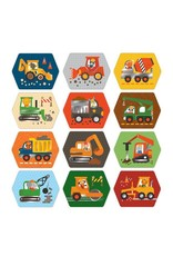 Petit Collage Memory Game: Construction