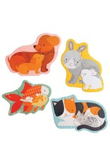 Petit Collage Petit Collage Beginner Puzzle Pets