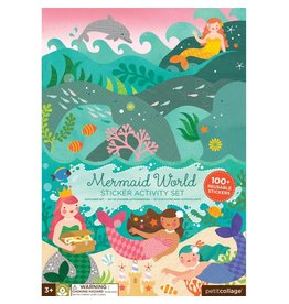 Petit Collage Petit Collage Sticker Activity Set: Mermaid World