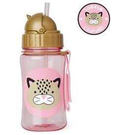 Skip*Hop Skip Hop Straw Bottle: Leopard