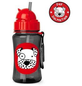 Skip*Hop Skip Hop Straw Bottle: Dalmatian