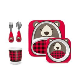 Skip*Hop Skip Hop Dinner Set: Winter Zoo Bear