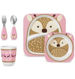 Skip*Hop Skip Hop Dinner Set: Winter Zoo Deer